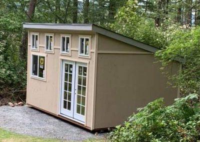 Pacific Northwest backyard office